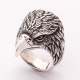 """Крутой перстень """"Орел"""" серебро"""