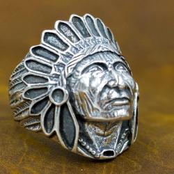 """Кольцо """"Вождь Индейцев"""""""
