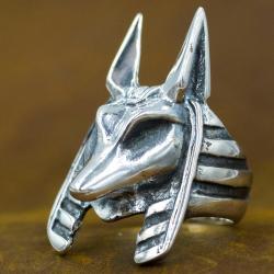 "Кольцо ""Анубис"" серебро"