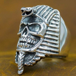 "Кольцо с черепом ""Фараон"""